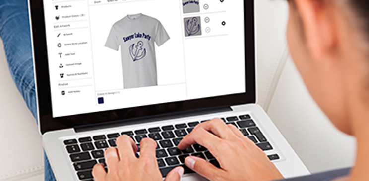 How to create your own custom t shirt online for Customize your t shirt online